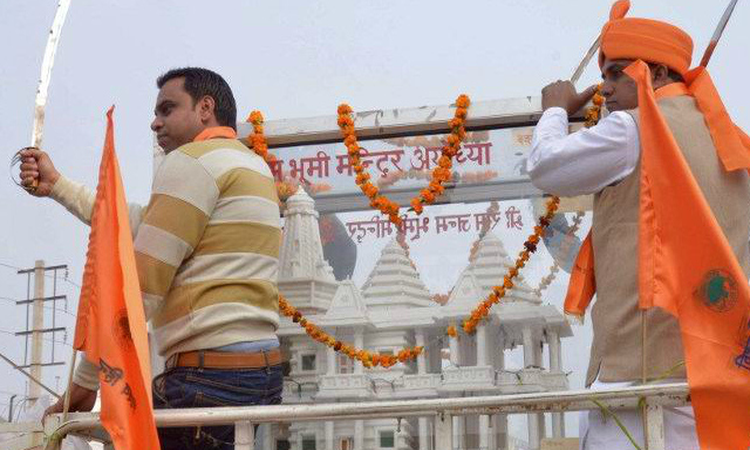 Building the Ram temple