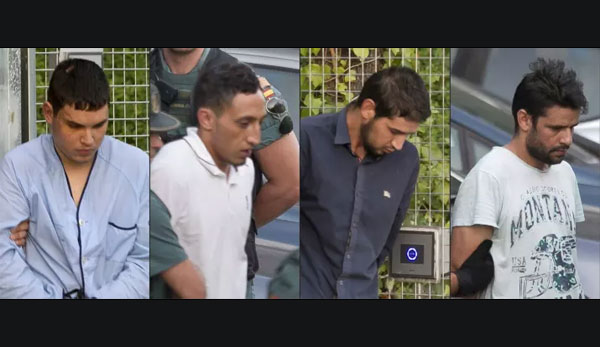 Two of four Barcelona terror attack suspects jailed