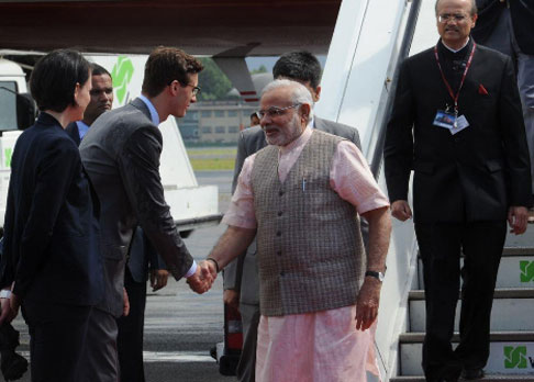 PM reaches Berlin en route to BRICS summit