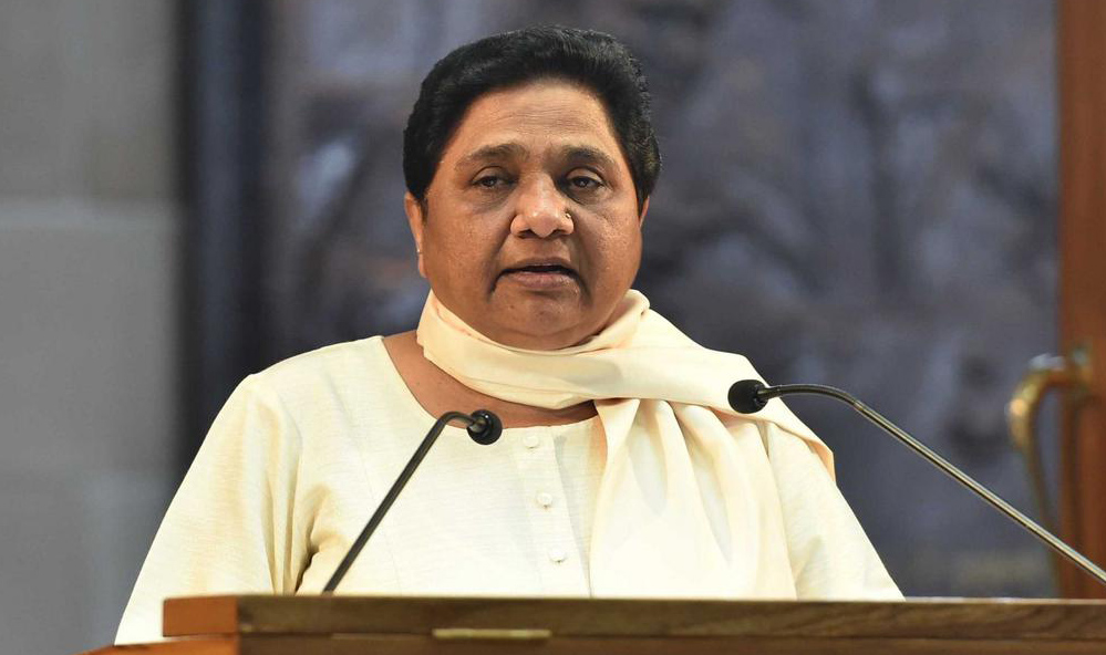 RSS-BJP dont want the poor to progress, claims Mayawati