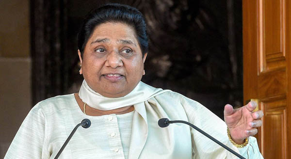 Will review support to Cong in MP: Mayawati