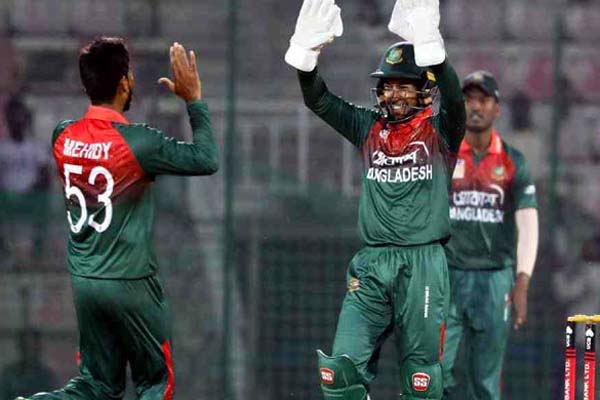 2nd ODI: Bangladesh win thriller to clinch series against Zim
