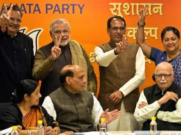 BJP manifesto bids farewell to Vajpayee era