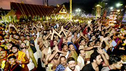 Thousands of Lord Ayyappa devotees witness Makaravilakku
