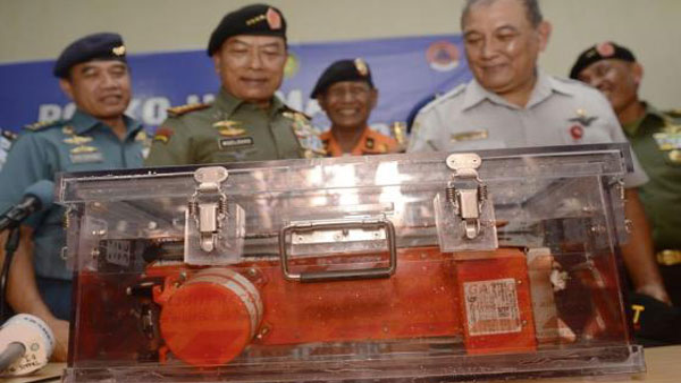Retrieved AirAsia black box in good condition