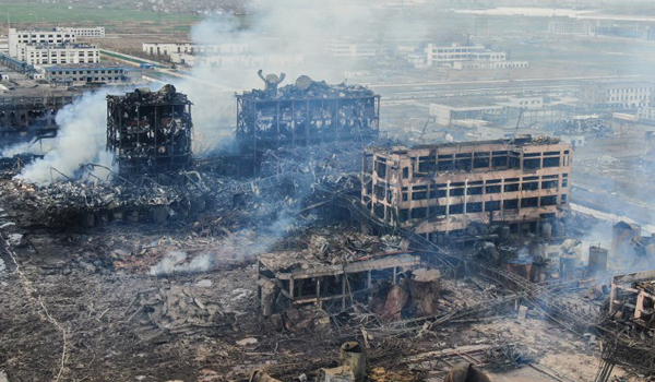 China chemical blast toll increases to 64