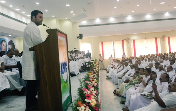 Stop internal rift, stand together for Assembly polls: Rahul to Cong leaders