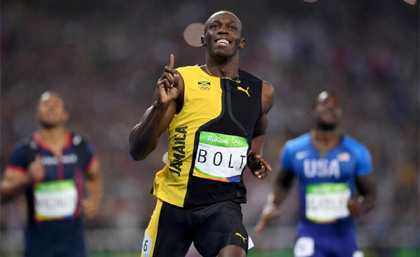 Bolt wins 200m title, takes second gold at Rio Olympics