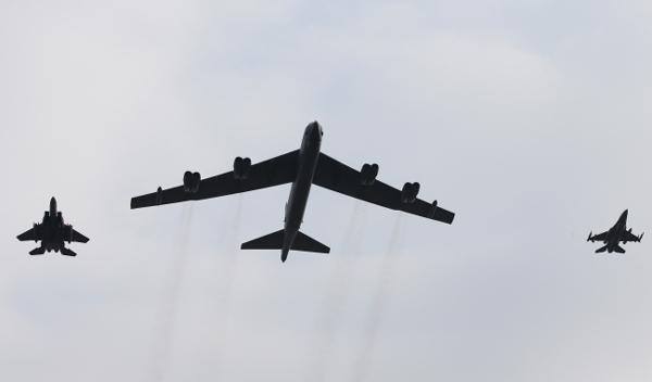 South Korea, US deploy strategic bomber over Korean Peninsula
