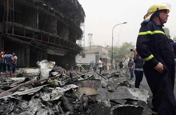130 killed in IS-led bombings on Iraqi Shias