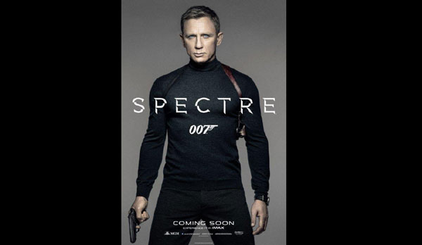 James Bond ditches formals for latest film poster
