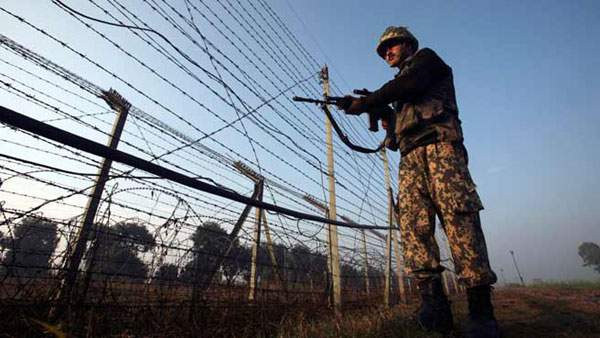 Pakistan opens fire on LoC again, woman injured