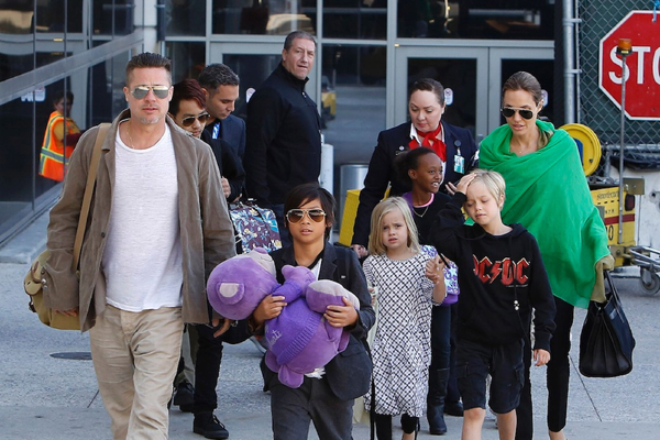 No acting plans for Angelina Jolie, Brad Pitts kids