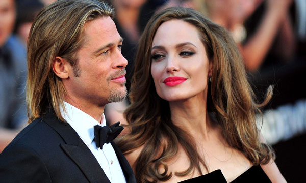 Angelina Jolie & Brad Pitt now Mr & Mrs