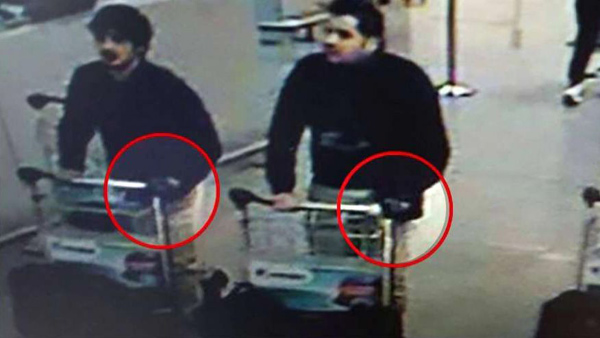 Brussels airport attackers identified as El Bakraoui brothers