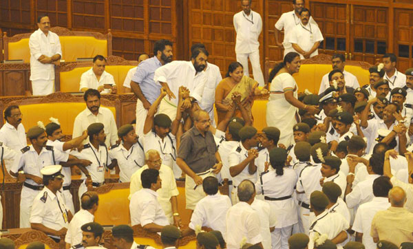 Assembly ruckus: Action against erring MLAs sought