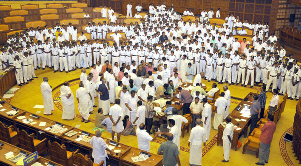 After clash in Assembly, MLAs begin blame game