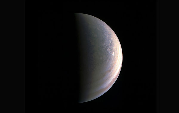 Juno sends 1st images of Jupiters north, south poles