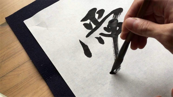 Love for calligraphy drew this Japanese girl to India
