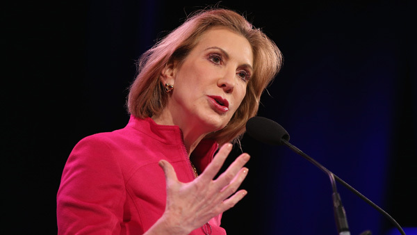 Carly Fiorina first woman to seek Republican presidential nomination