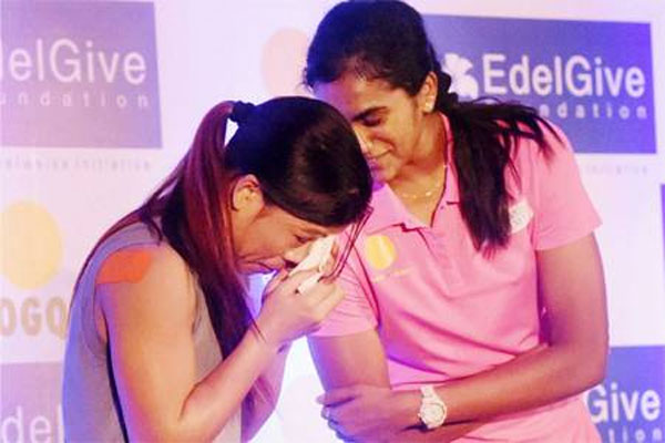 Teary-eyed Mary Kom alleges bias in selection