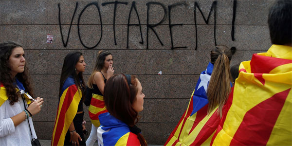 2.2mn ballots cast, 90% favour Catalan independence: Official