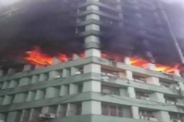Fire at CGO complex in Delhi