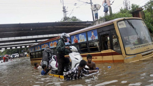 Assembly offers support to rain-hit Chennai