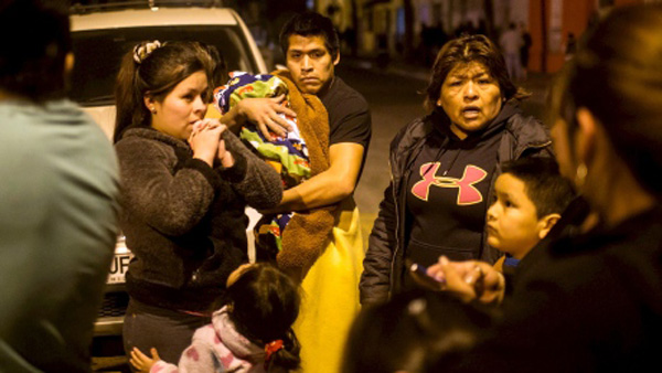 Five killed in Chile quake, tsunami alert sounded