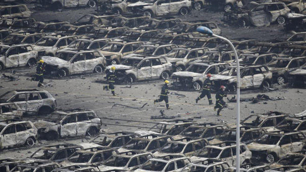 China blasts: Toll rises to 112