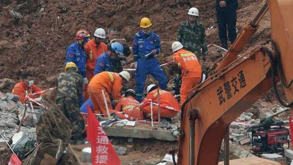 40 killed in China building collapse