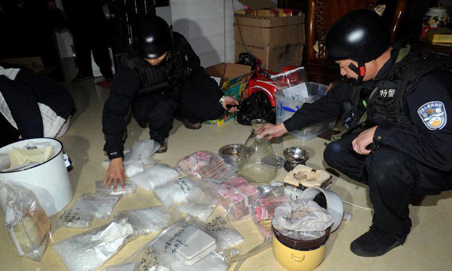 60,000 arrested in China anti-drug operation