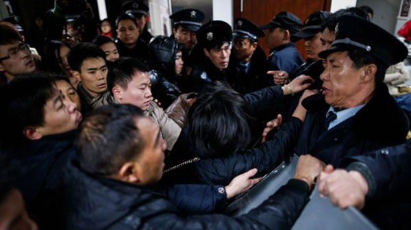 35 killed in China New Year celebration stampede