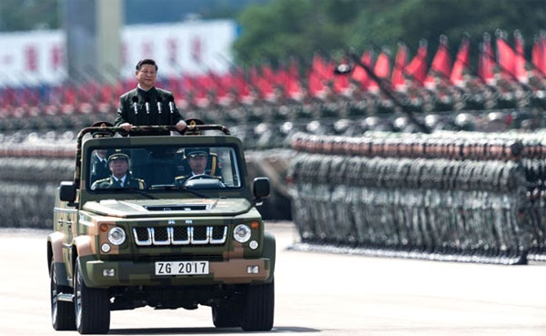 Xi says Chinese Army can defeat invading enemies