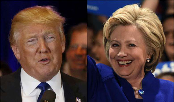 Clinton, Trump begin final campaign stretch with events in key states