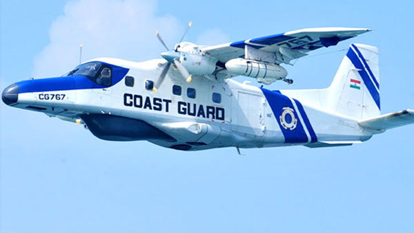 Indian Navy ship picks signals likely from missing Dornier