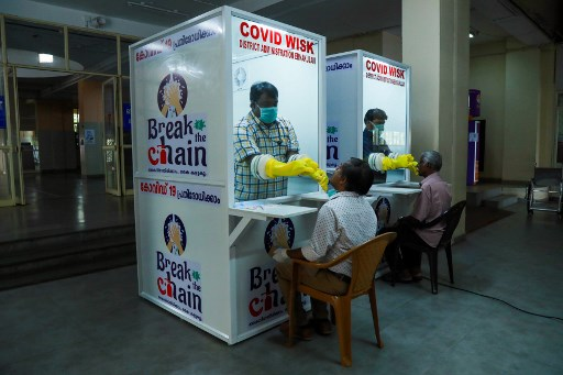 Walk-in kiosk for swab collection ready in Kochi