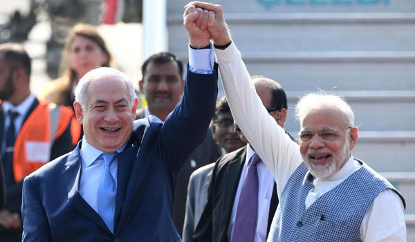 Netanyahu congratulates dear friend Modi on election victory