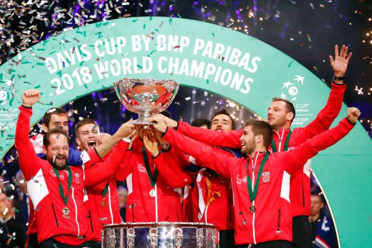 Croatia beat France, claim Davis Cup title for second time