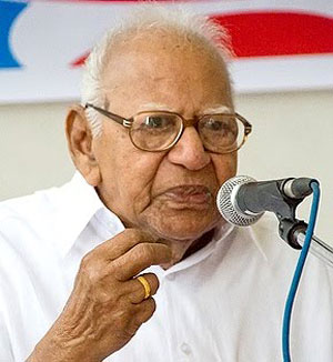 V.R. Krishna Iyer continues to be critical