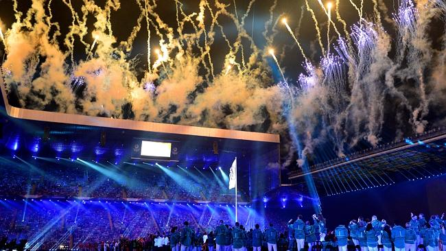 Commonwealth Games end with a colourful closing ceremony