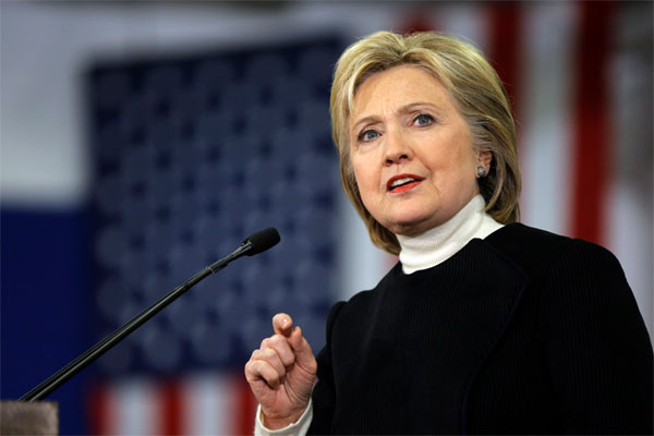 Clinton makes final push in runup to New Jersey primary