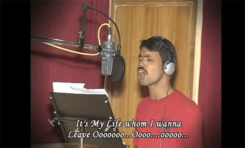 An audacity to sing