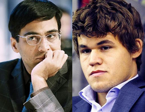 Anand draws against Carlsen