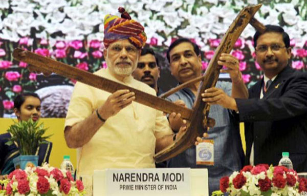 Modi launches DD Kisan channel, calls for big change in agriculture