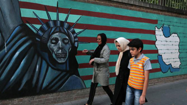 Death to America to remain on walls of US Embassy in Tehran