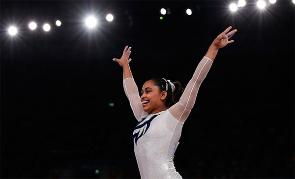 Gymnast Dipa creates history by entering Olympic final