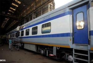 Indias 1st A/C DEMU train launched in Kochi