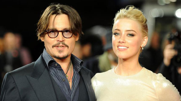 Johnny Depp, Amber Heard marry