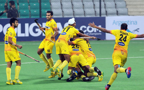 India stun Olympic champs Germany in Hero World League classification match